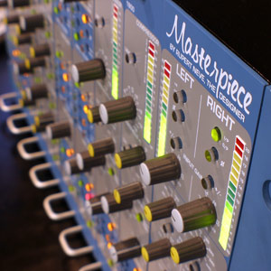 Analog mastering equipment